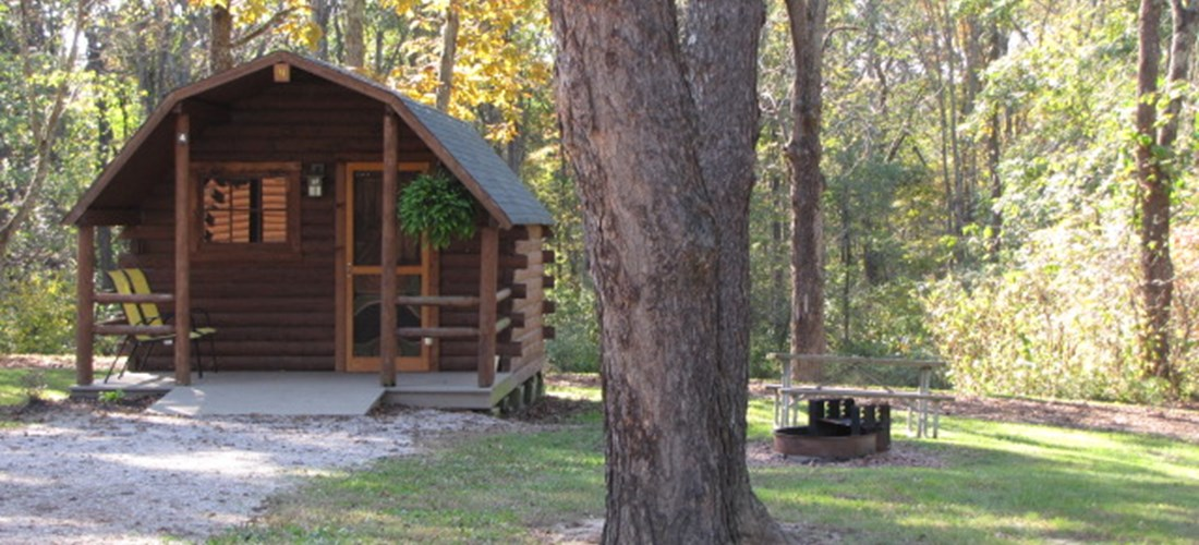 Couples Camp Cabin