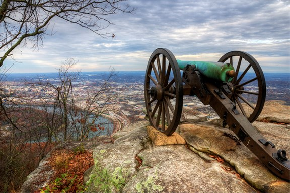 The Battles for Chattanooga and Point Park