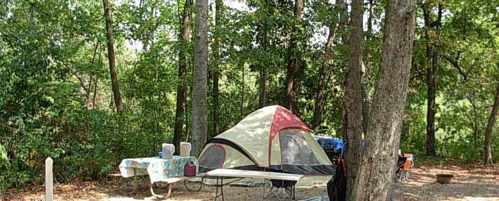 Trenton Georgia Tent Camping Sites Lookout Mountain