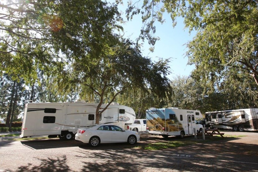 Rental spaces for different RVs