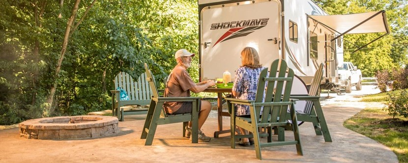 Best RV sites in Louisville!