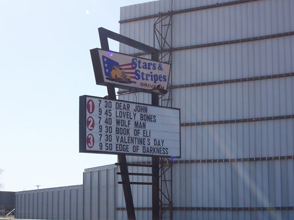 Stars & Stripes Drive-In Theater