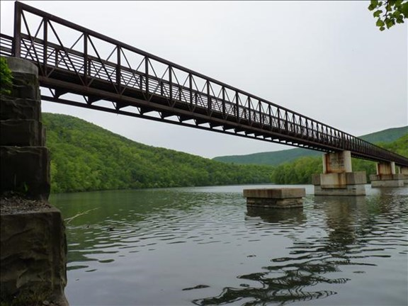 Appalachian Trail / James River Foot Bridge