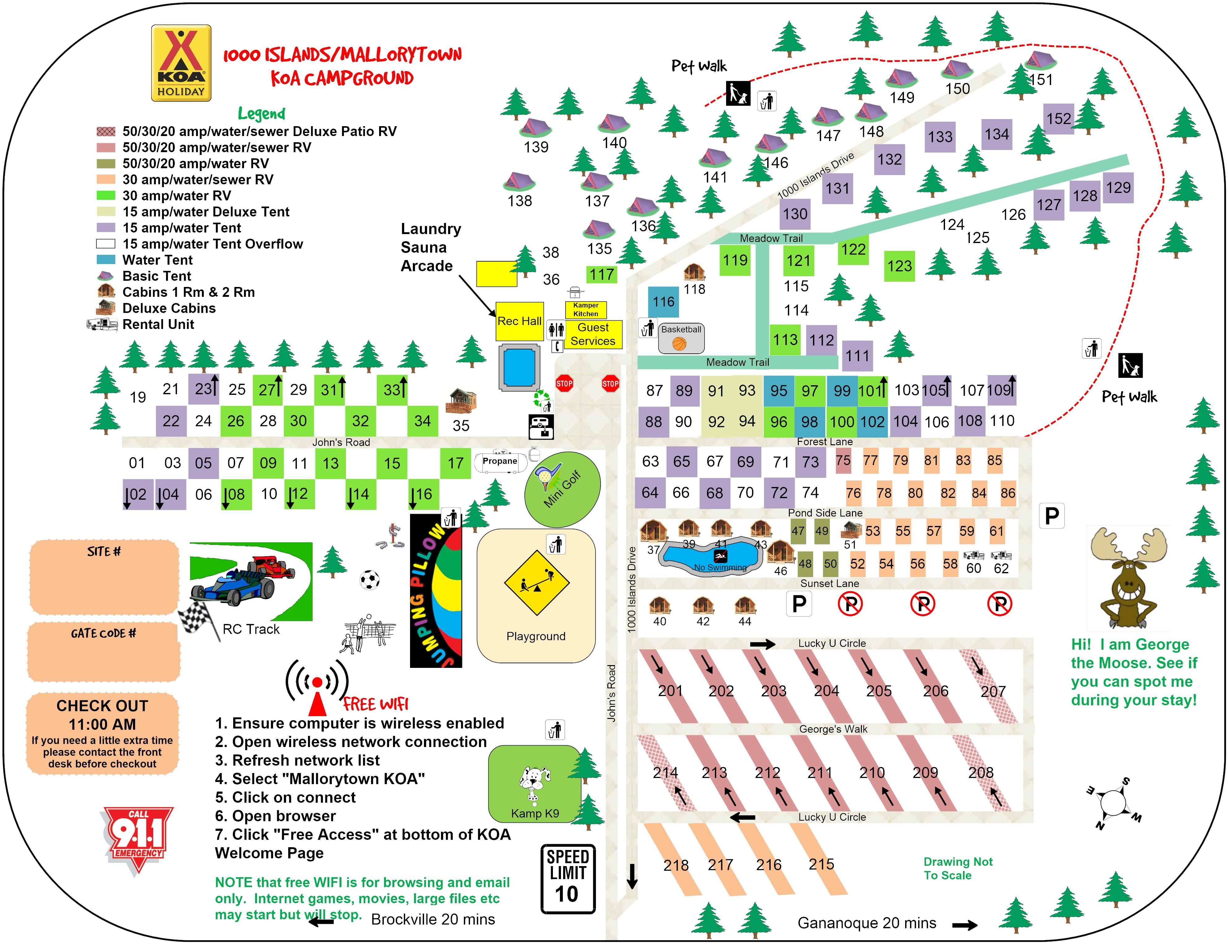 Mallorytown, Ontario Campground | 1000 Islands / Mallorytown KOA on
