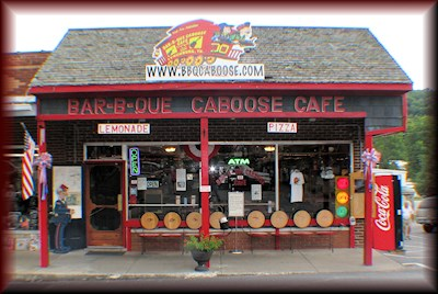 Bar-B-Que Caboose Cafe