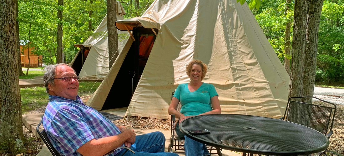 Manchester, Tennessee Tent Camping Sites | Manchester KOA