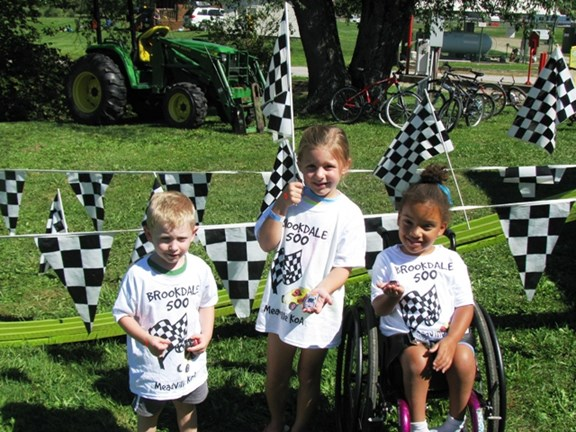 Brookdale 500 MAtchbox Car Race for Kids!