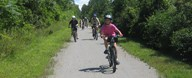 Erie Canal Bike Path  (access 5 miles from our KOA)