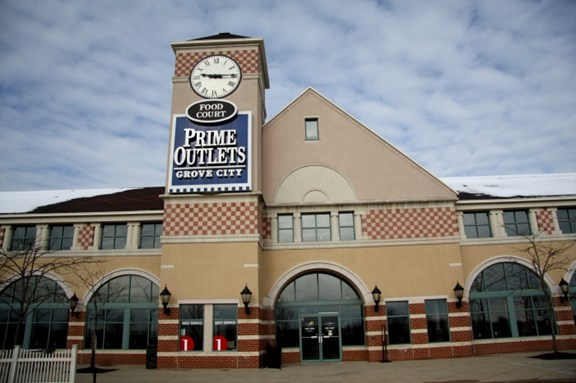 Grove City Premium Outlets - 6 Minutes
