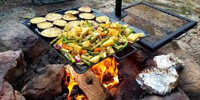 Outdoor Cooking Systems: The Gravity Grill