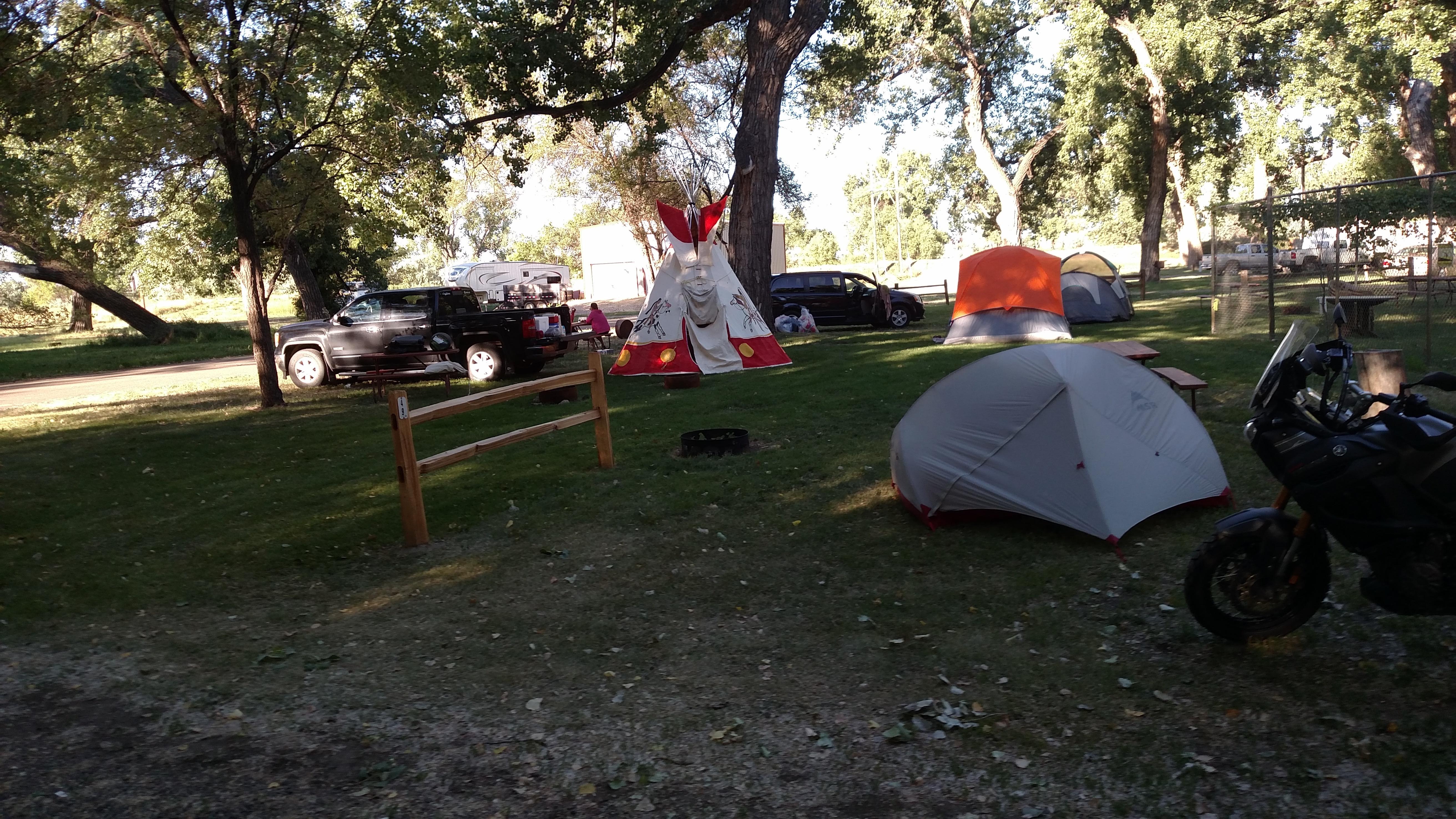 miles city montana campground miles city koa