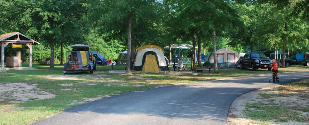 Tent Sites - W/Water & Electric