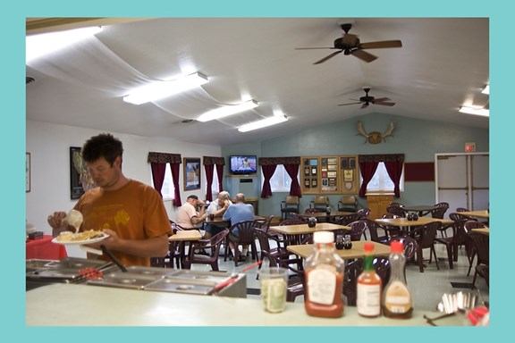 Closed for 2020 / Missoula KOA Kafe Buffet Breakfast