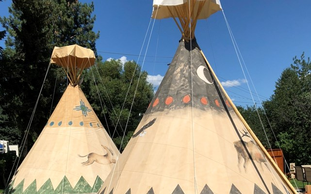 Teepee (Tipi) Sites