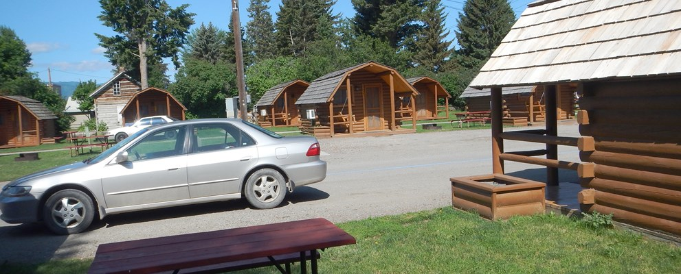 1 Room Camping Cabin (w/o Bathroom)  Sleeps 5