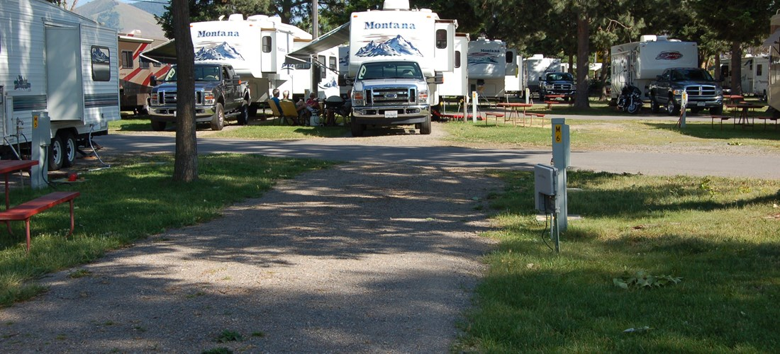 Mid Size RV sites 50 Amp