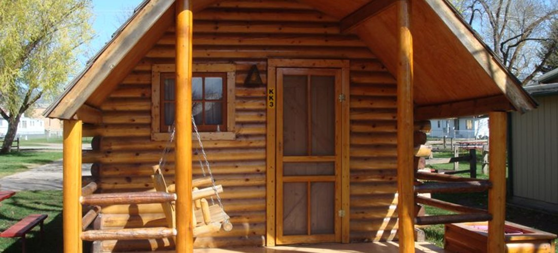 Camping Cabin At Missoula KOA