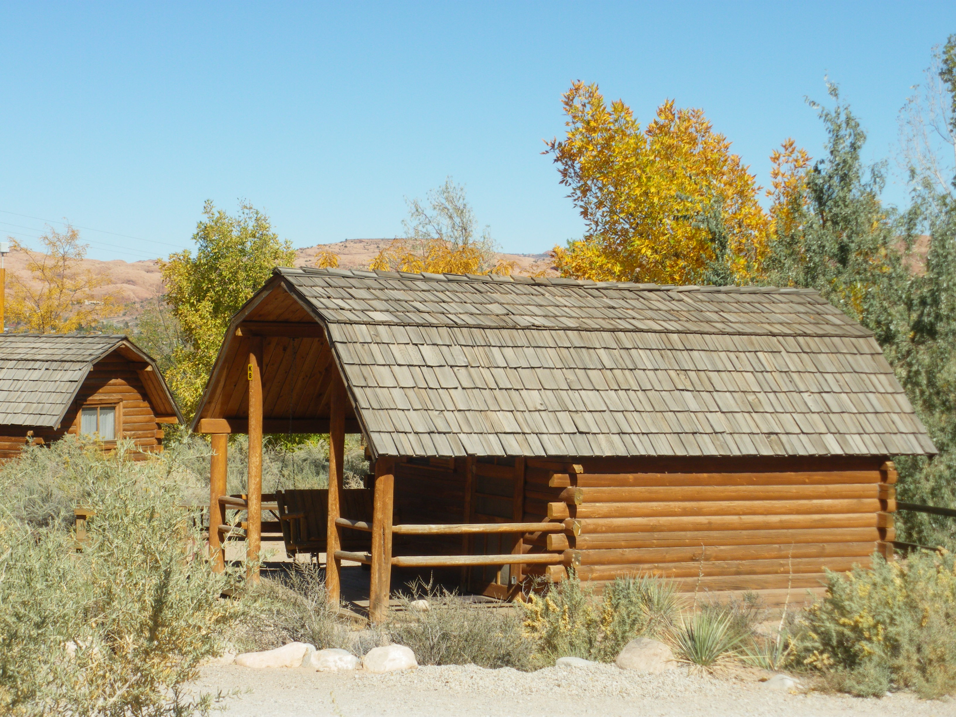 cabin site rentals moab utah cabins type koa campgrounds lodging