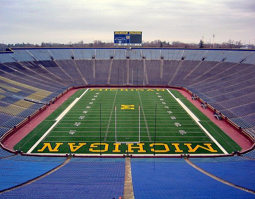The Big House at the University of Michigan