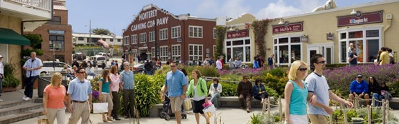 Historic Monterey - Cannery Row and Fisherman's Wharf