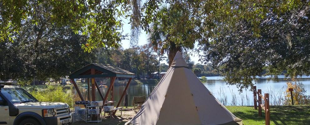 Mt Pleasant South Carolina Tent Camping Sites Mount