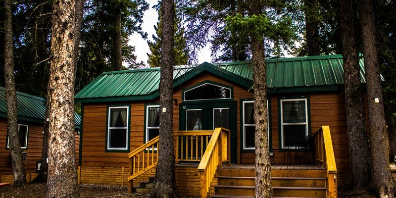Deluxe 2 Bedroom cabin with kitchen