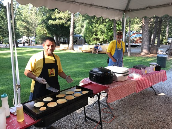 Join us for pancakes and sausage