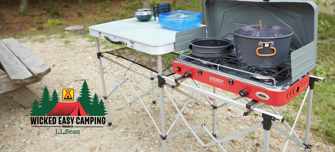 Wicked Easy Camping Stove Setup