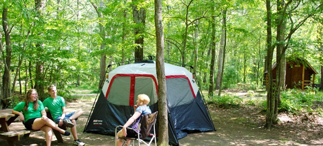 North Stonington, Connecticut Tent Camping Sites   Mystic KOA