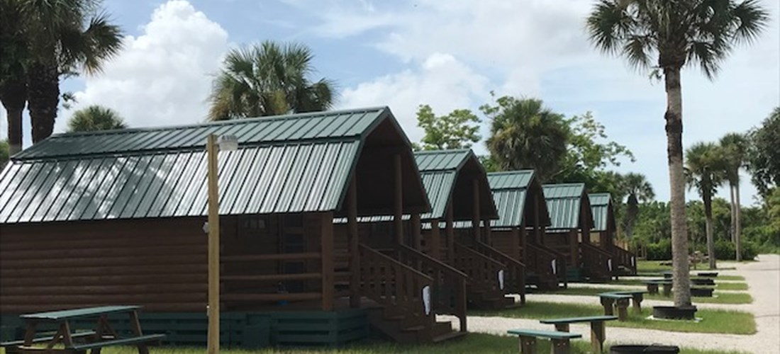 Our newly remodeled Rustic Cabins are great for groups!