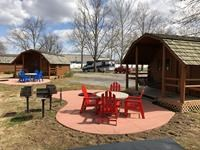 Camping Cabins with KOA Patio®
