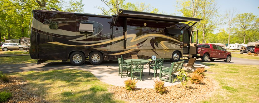 RV Sites with Style - Nashville RV Camping