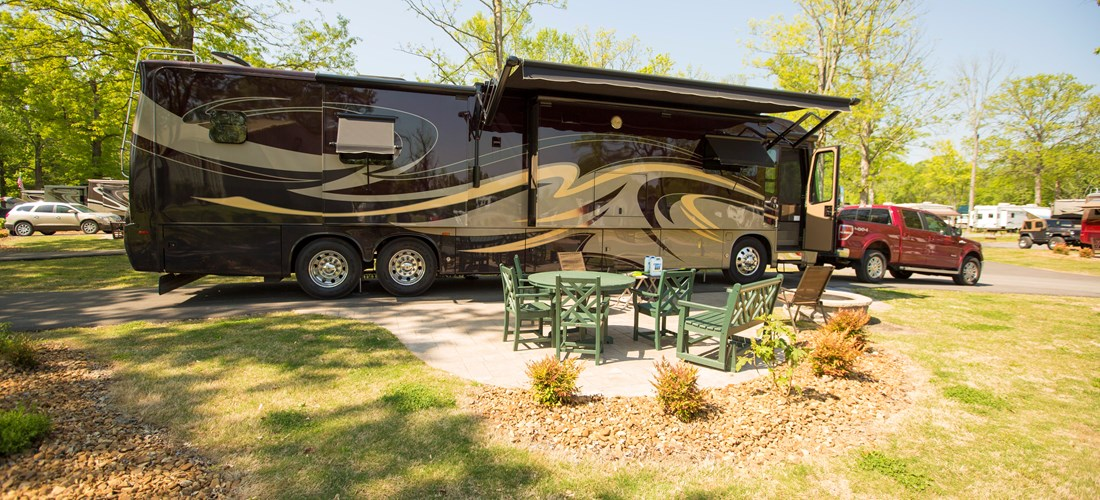 Full - hookup RV site