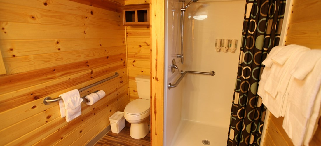 Deluxe Cabin - Bathroom