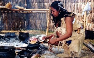 The Monacan Indian Living History Village