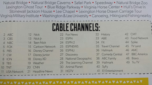 Cable Channels