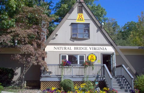 Welcome to Natural Bridge, Virginia