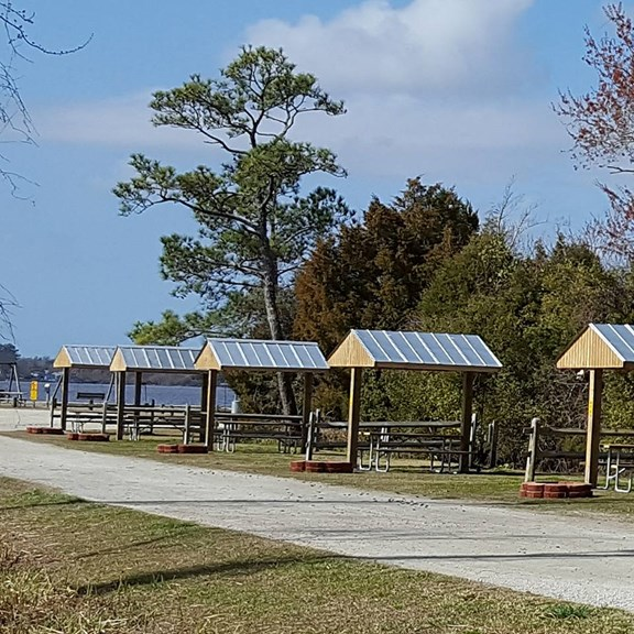 Waterfront Tent Sites