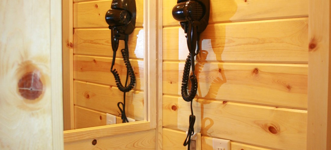 Hair Dryers in all Deluxe Cabins