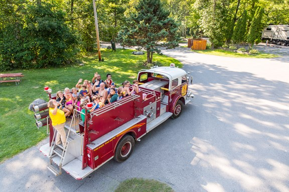 Fire Truck Rides and Hayrides