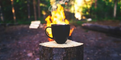8 Hot Beverages to Make Over a Campfire to Stay Warm