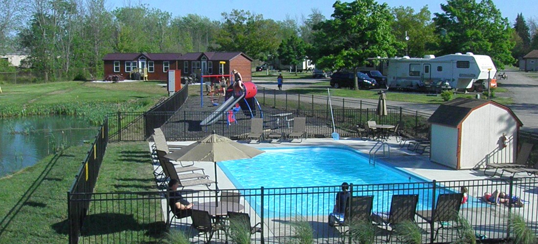 Front Pool & Playground