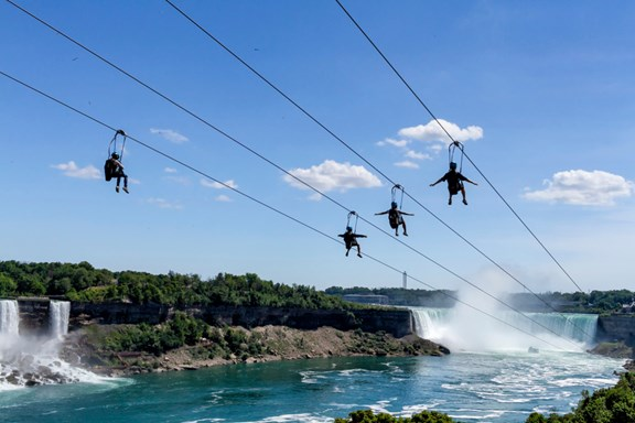 Mistrider Zipline to the Falls