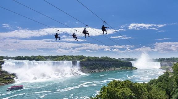 WildPlay MistRider Zipline to the Falls