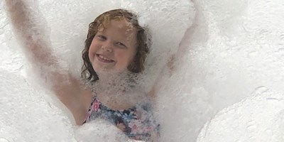 Foam Parties are so much FUN!