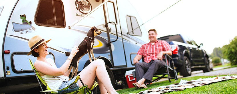 Pet Friendly Camping SItes