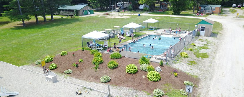 Pools, Lower Field, Lower Pavilion, Fishing Pond, Horseshoes & More!