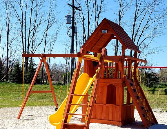 A great places for those little ones to play and dig in the sand!