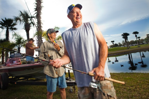 Experience the best Bass Fishing on Lake Okeechobee