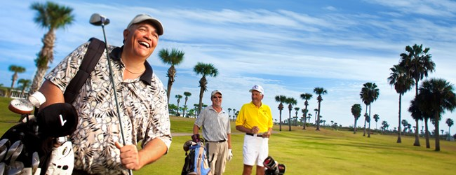 Play a round or two on our 9-Hole Par 34 Golf Course